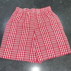 Kelly's Kids Plaid shorts 7/8